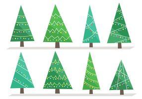 Vector de Árvore de Natal grátis