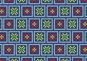 Huichol floral vetor