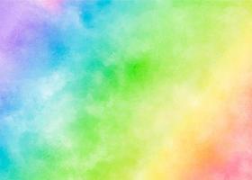 textura colorida do arco-íris em aquarela