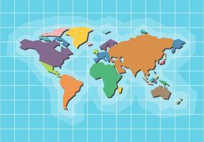 Vector do Mapa Mundial Gratuito