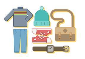 Vector de roupa grátis
