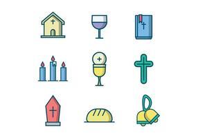 Ícone de vetor cristão grátis