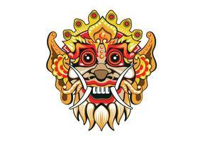 Vetor Fun Barong Mask