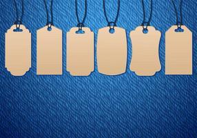 Freeboard Cardboard Pricetag vetor