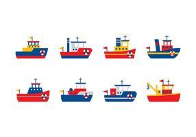 Vetor de tugboat