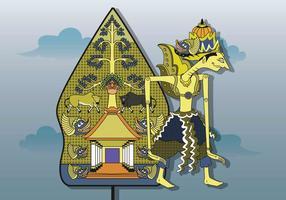 Ilustração gratuita de Wayang vetor