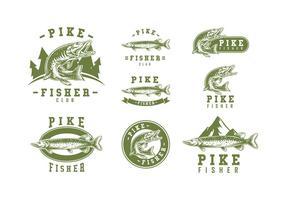 Logotipo do logotipo de Pike vetor