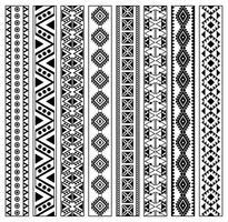 Vector Huichol Pattern grátis