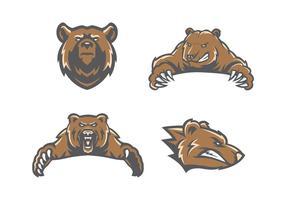 Vetor de urso livre