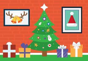 Árvore de Natal de vetores grátis