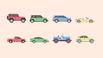 Ícone de carros grátis vetor