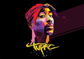 Tupac - wpap vetor