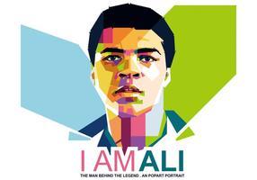 Eu Sou Ali - WPAP vetor