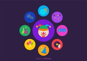 Free Vector Party Favors Icons
