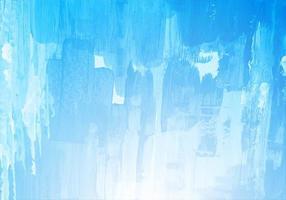 mão desenhar pincel azul textura aquarela fundo vetor
