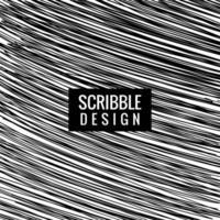 fundo de textura de linhas de rabisco desenhado à mão vetor