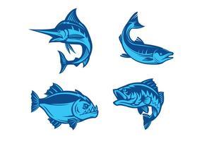 Vetor de peixe livre