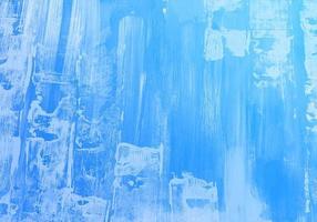 textura de aquarela com traço vertical azul suave vetor