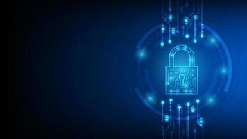design de proteção de rede de segurança de tecnologia cibernética