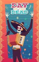 ilustração do dia dos mortos