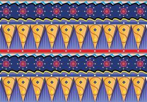 Arte vetorial de padrão gipsy vetor