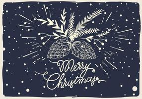 Ilustração vetorial de Natal grátis vetor