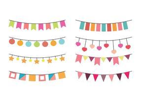 Fibras de vetores para festas