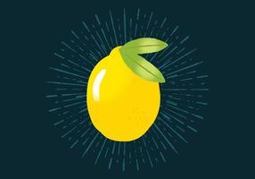 Amarelo radiante vetor