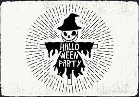 Ilustração livre do vetor do partido do Dia das Bruxas