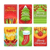 compartilhe sua alegria e felicidade para o natal vetor