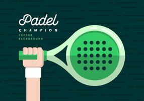 Fundo Padel vetor