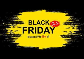 venda de feriado de sexta-feira negra para fundo de banner grunge