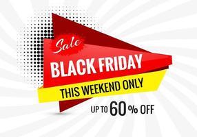 fundo preto banner venda promoção sexta-feira