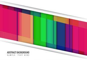 Fundo abstrato abstrato colorido do vetor