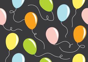 Padrão de balão vetor