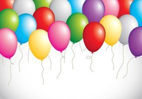 Festa de balão vetor