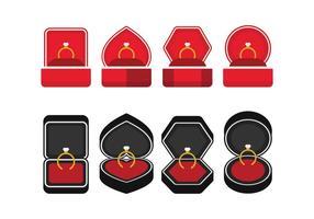Ícones da caixa do anel