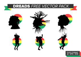 Dreads pacote de vetores grátis