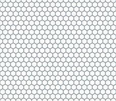 hexágono padrão sem emenda vetor