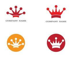 imagens do logotipo da coroa vetor