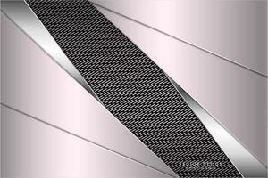 fundo metálico rosa com textura de fibra de carbono vetor