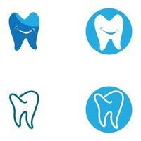 imagens de logotipo dental vetor
