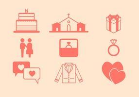 Ícone grátis do vetor de casamento