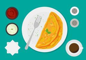 Vector de Omelete grátis