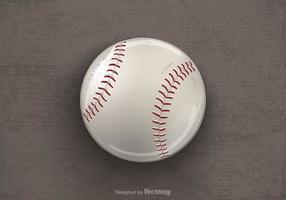 Ilustração vetorial desenhada livre do basebol vetor