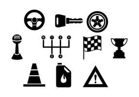 Vector de elementos de carro gratuitos