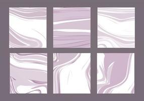 Cartões de mármore vectorial vetor