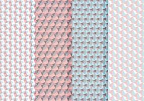Vetor conjunto abstrato de padrões
