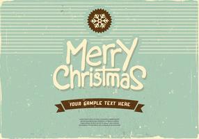 Feliz Natal vetor de floco de neve