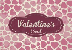 Vector do cartão dos namorados